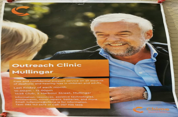 Chime hearing aid clinic is held in 1428 club on the last Friday of every month