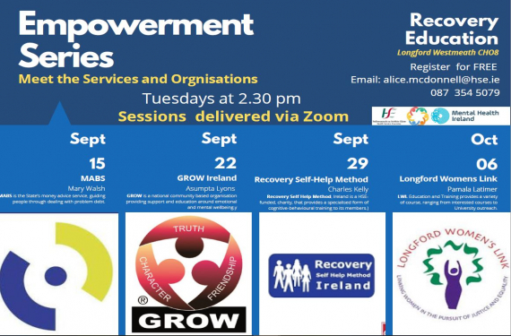 New Empowerment Series: Meet the Service or Organisations 2