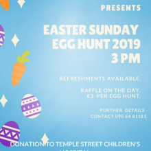 Easter Sunday Egg Hunt 2019